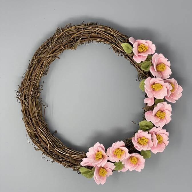 Felt Cherry Blossom Craft Kit