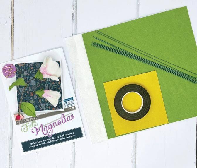 Felt Magnolia Craft Kit