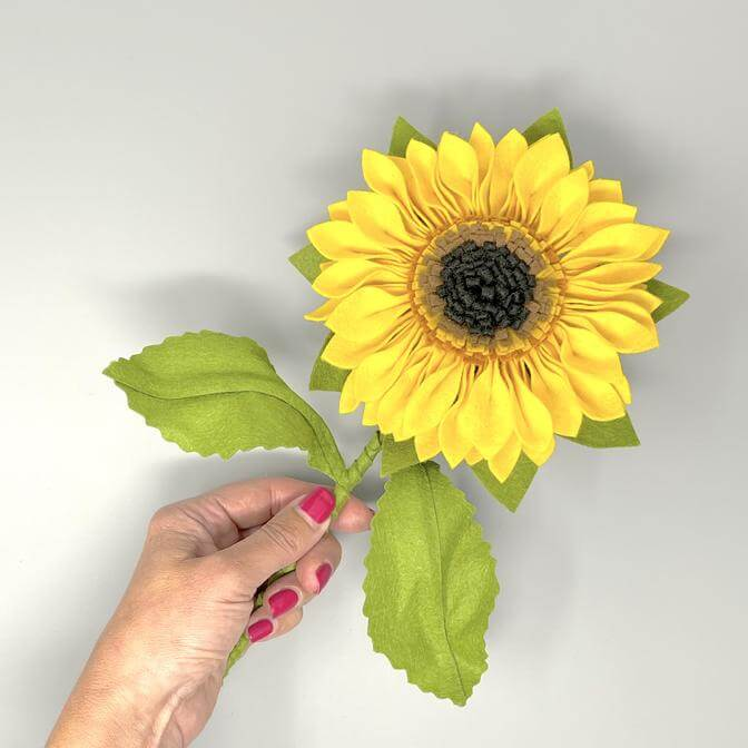 Felt Sunflower Craft Kit