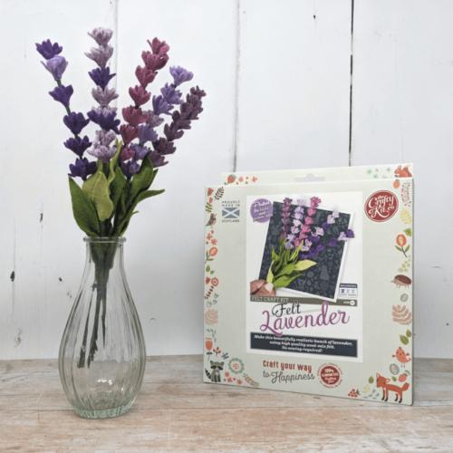 Felt Lavender Craft Kit