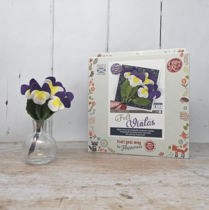 Felt Violas Craft Kit