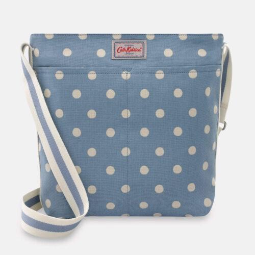 Cath Kidston Spot Zipped Messenger Bag