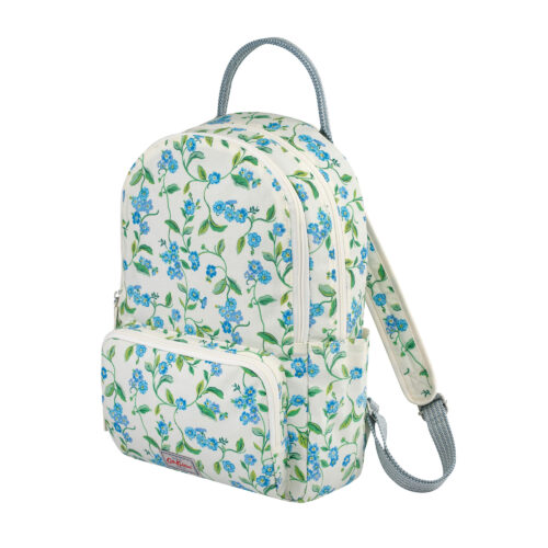 Cath Kidston Forget Me Not Pocket Backpack Cream