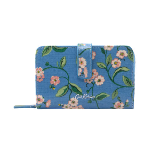 Cath Kidston Forget Me Not Folded Zip Wallet