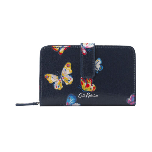 Cath Kidston Butterflies Folded Zip Wallet