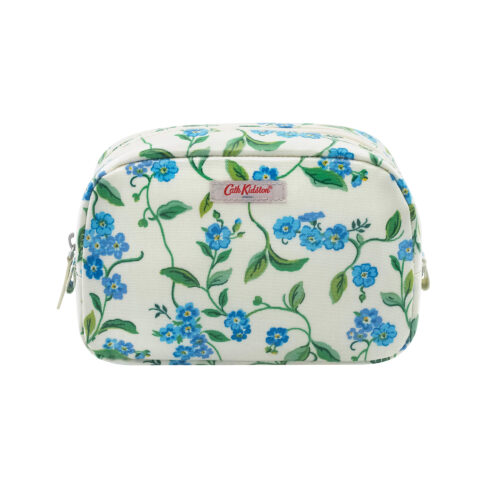 Cath Kidston Forget Me Not Classic Cosmetic Case Cream