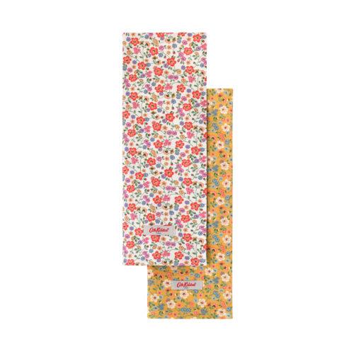 Cath Kidston Pembridge Ditsy Set of Two Tea Towels
