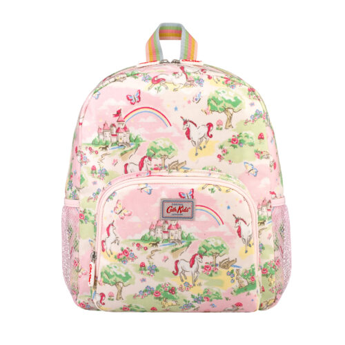 Cath Kidston Unicorn Kingdom Kids Classic Large Backpack with Mesh Pocket