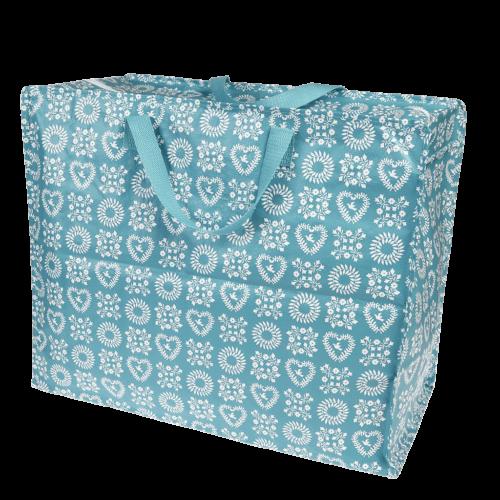 Blue Friendship Jumbo Storage Bag