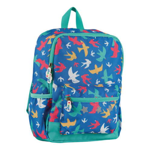 Frugi Adventurers Backpack: Rainbow Flight