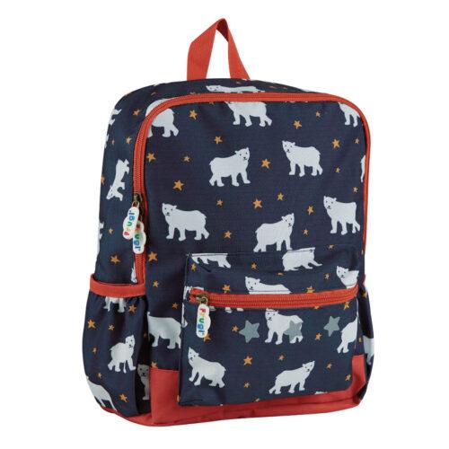 Frugi Adventurers Backpack: Polar Bears