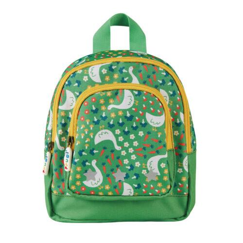 Frugi Little Adventurers Backpack: Springtime Geese