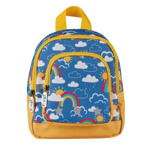 Frugi Little Adventurers Backpack: Rainbow Skies