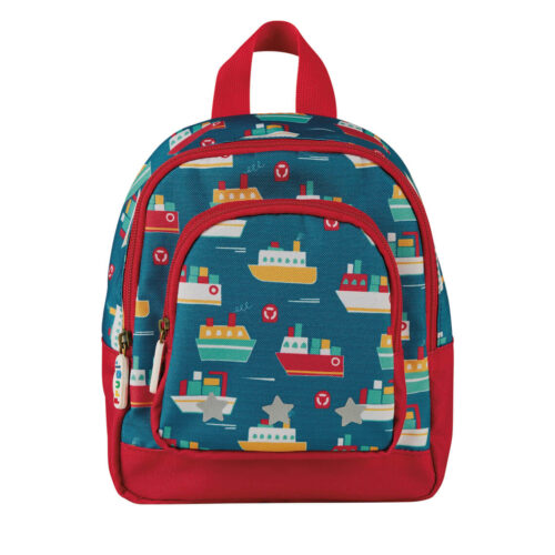 Frugi Little Adventurers Backpack: Sail the Seas