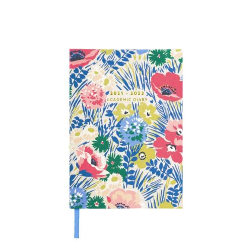 Cath Kidston Winfield Flowers 2021/2022 A5 Academic Diary