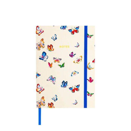 Cath Kidston Butterflies A5 Fabric Notebook