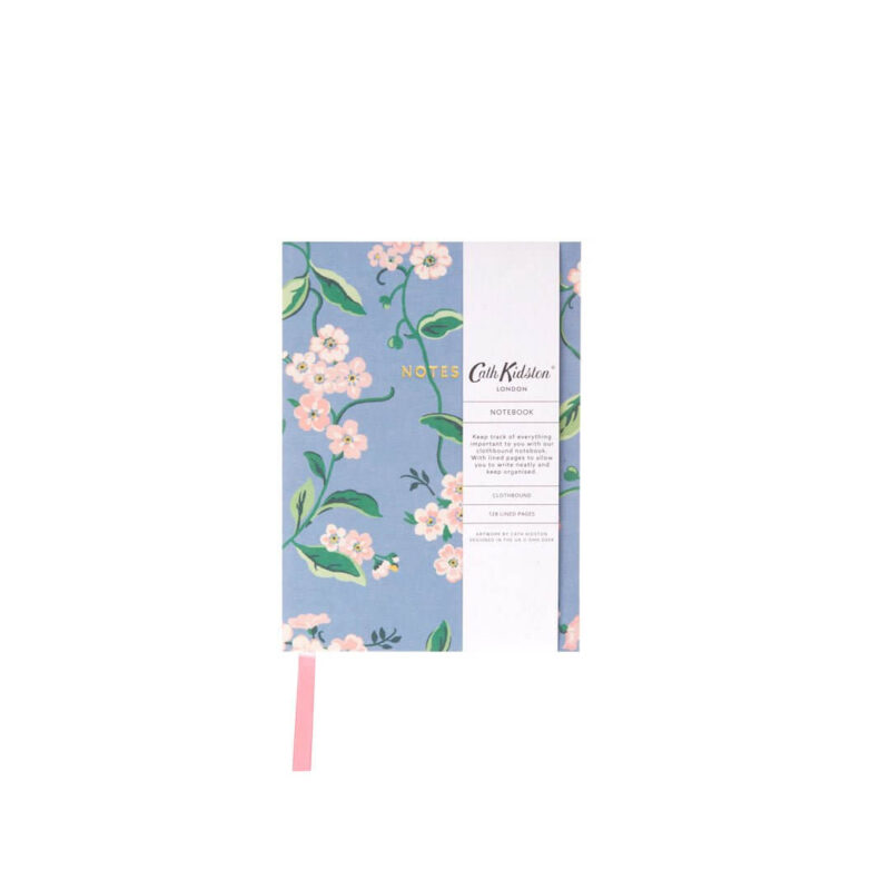 Cath Kidston Forget Me Not A6 Fabric Notebook