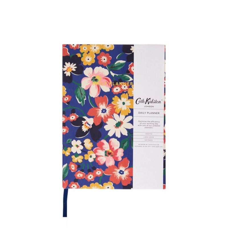 Cath Kidston Portland Flowers A5 Fabric Daily Planner
