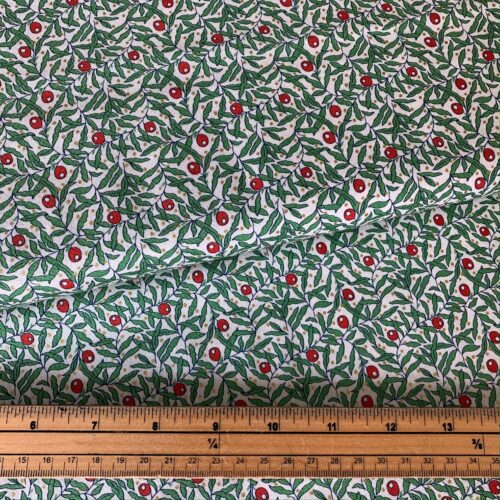 Liberty Fabrics - The Merry And Bright Collection Holiday Berries - £15 per metre