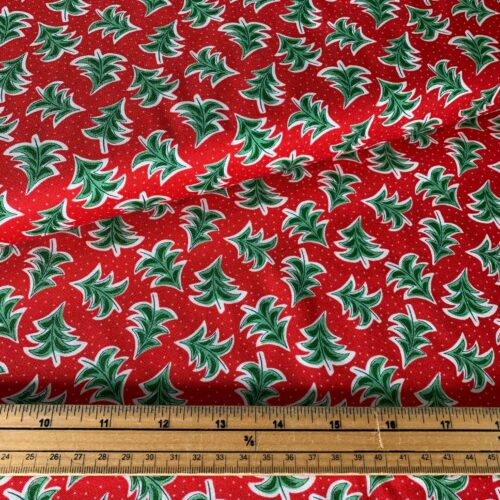 Liberty Fabrics - The Merry And Bright Collection Dancing Trees - £15 per metre