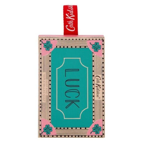 Cath Kidston Keep Kind 'Luck' Hanging Matchbox Soap