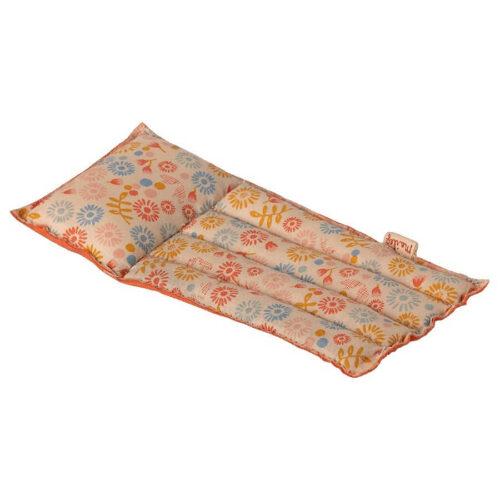 Maileg Air mattress, Mouse - Flower