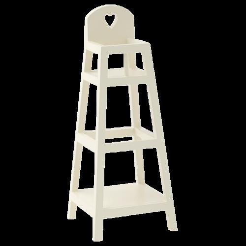 Maileg MY High Chair: White
